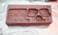 DIY manufacturing of plastic precision parts with CNC