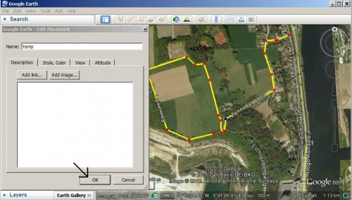 How to edit a GPS track with Google Earth