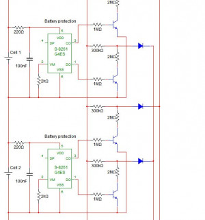 BMS battery cell voltage protection