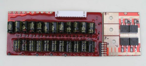 Lithium Ion / LiFePO4 battery management system with capacitive cell balancing
