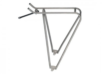 Lightweight titanium bicycle luggage rack Tubes Airy