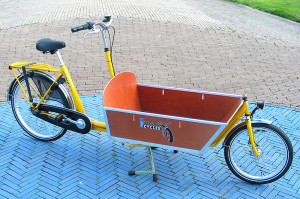 WorkCycles Cargobike delivery