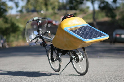 Solar Powered Bike from Mark